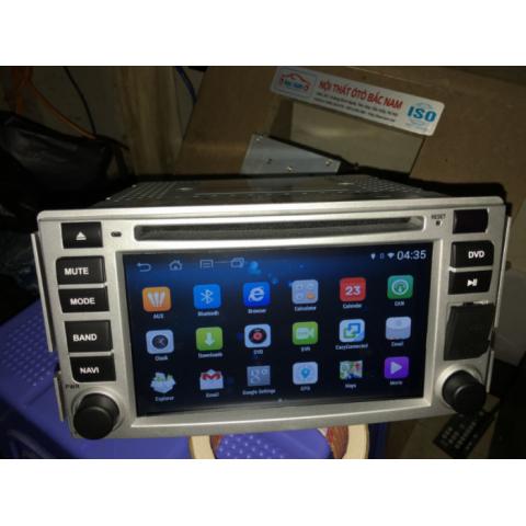 Màn hình android DVD ô tô cho xe Hyundai Santafe