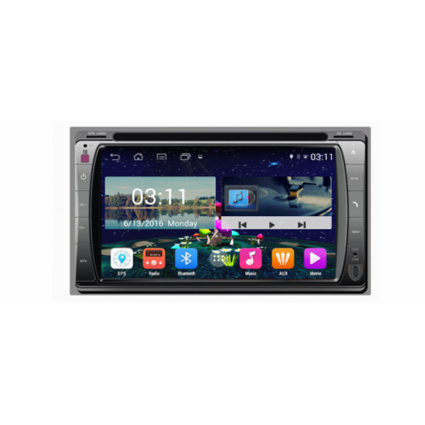 Đầu màn hình android DVD ô tô cho xe Daewoo Matiz