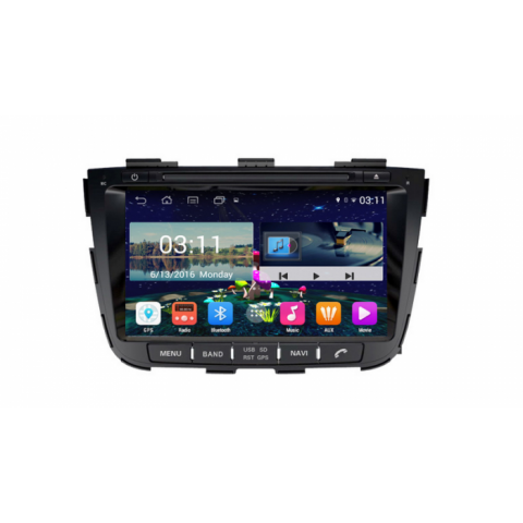 Đầu màn hình android DVD ô tô cho xe Kia Sorento