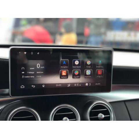 Đầu màn hình android DVD ô tô cho xe Mercedes C300