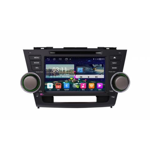 Đầu màn hình android DVD ô tô cho xe Toyota Highlander