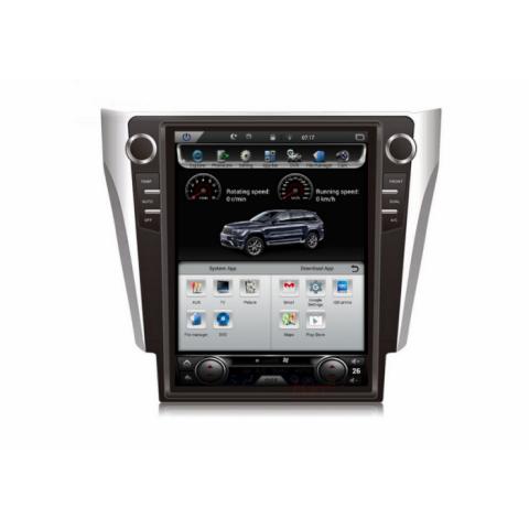 Đầu màn hình android DVD ô tô Tesla cho Toyota Camry