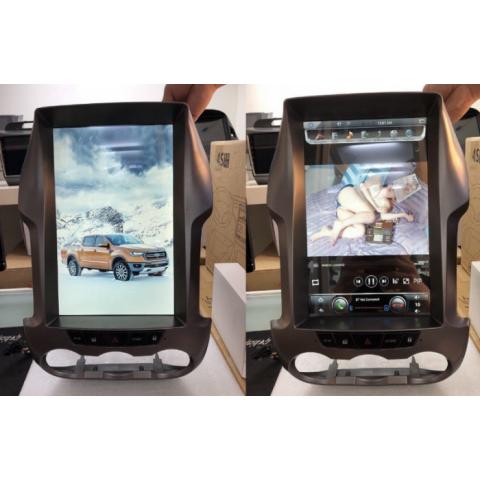 Đầu màn hình android DVD ô tô tesla cho Ford Ranger