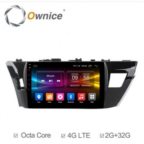 Đầu màn hình android DVD ô tô Ownice C500+ cho xe Toyota Altis