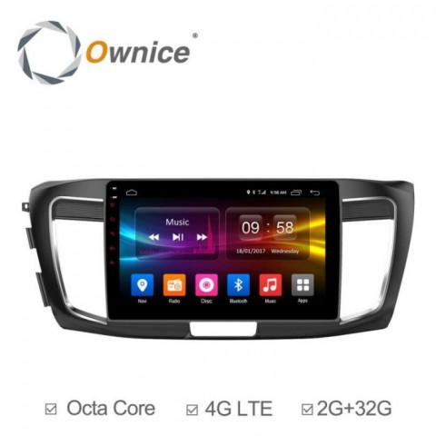 Đầu màn hình android DVD ô tô Ownice C500+ cho xe Honda Accord