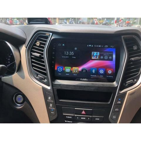 Đầu màn hình android Ability cho xe hyundai Santafe