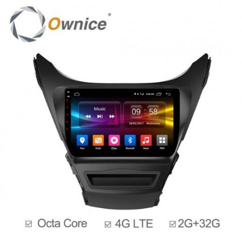 Đầu màn hình android DVD ô tô Ownice C500+ cho xe Hyundai Elantra