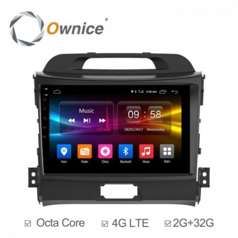 Đầu màn hình android DVD ô tô Ownice cho xe Kia Sportage