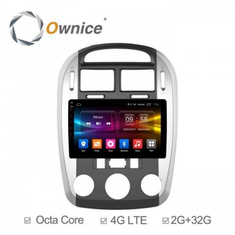 Đầu màn hình android DVD ô tô Ownice C500+ cho xe Kia Cerato
