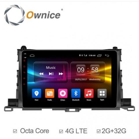 Đầu màn hình android DVD ô tô Ownice C500+ cho xe Toyota Highlander