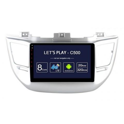 Màn hình DVD Android xe Hyundai Tucson