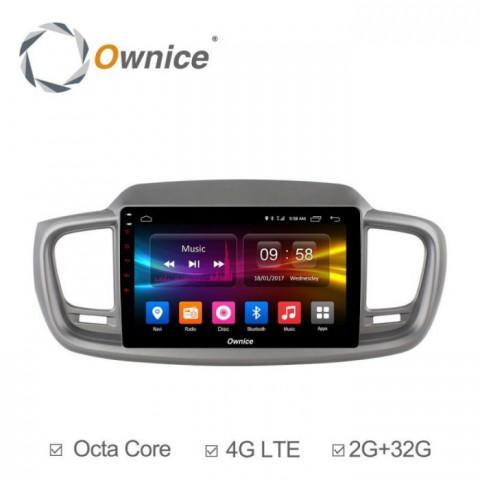 Đầu màn hình android DVD ô tô Ownice C500+ cho xe Kia Sorento