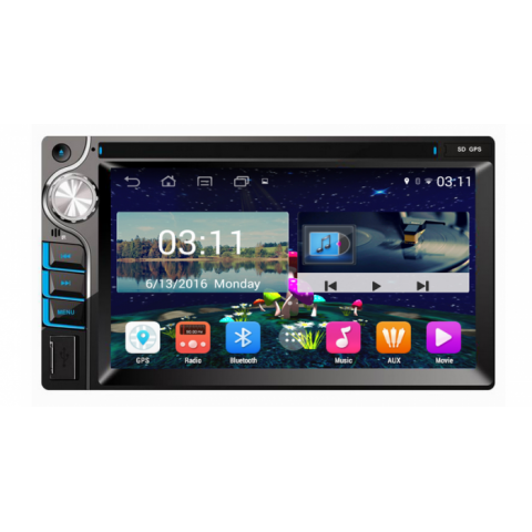 Đầu màn hình android DVD ô tô cho xe Ford Mondeo