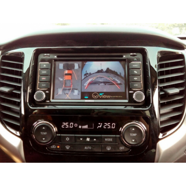 Camera 360 độ ô tô cho xe Mitsubishi Triton