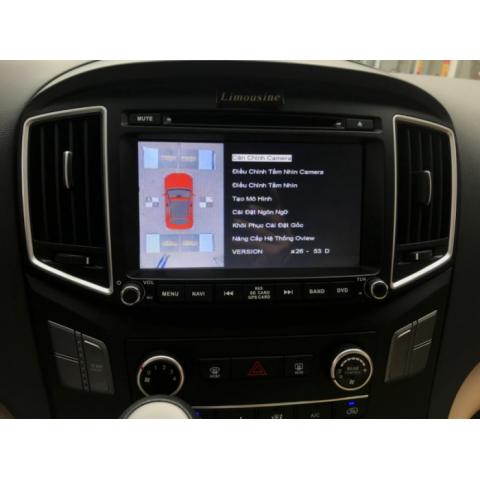 Camera 360 độ ô tô cho xe Hyundai Starex