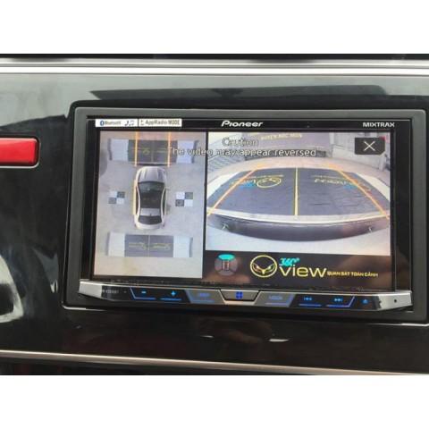 Camera 360 ô tô cho xe Honda City