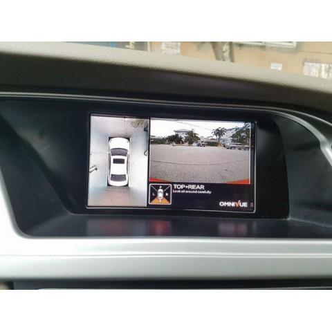 Camera 360 độ cho xe Audi A4