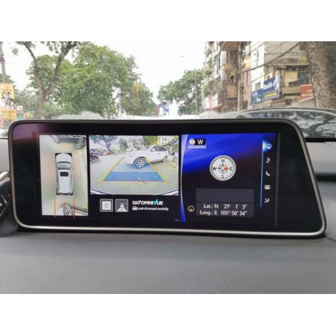 Camera 360 độ cho xe Lexus RX350