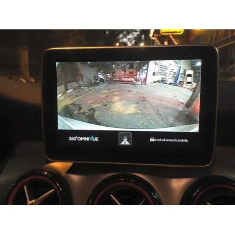 Camera 360 độ cho xe Mercedes Benz CLA 45 AMG