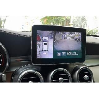 Camera 360 độ cho xe Mercedes GLC300