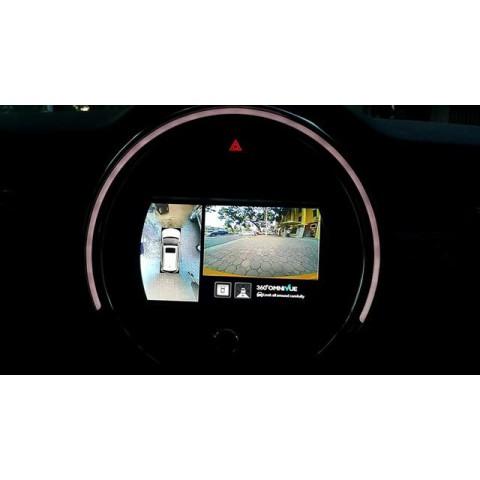Camera 360 độ Omnivue cho xe Mini Cooper S