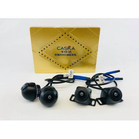 Camera 360 độ ô tô Caska 3D tích hợp cảm biến điểm mù