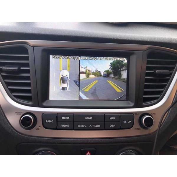 Camera 360 độ ô tô Owin cho xe Hyundai Accent