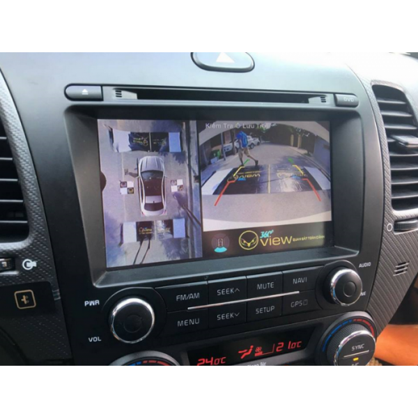 Camera 360 độ ô tô cho xe Kia Forte