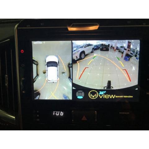 Camera 360 độ ô tô cho xe Toyota Land Cruiser