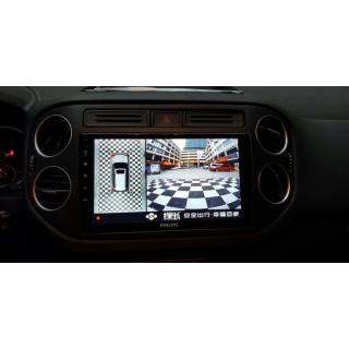 Camera 360 độ ô tô DCT bản tiêu chuẩn T2