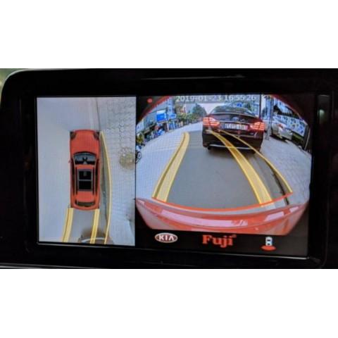 Camera 360 độ ô tô Fuji giá rẻ chính hãng