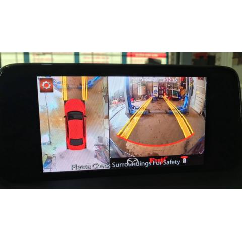 Camera 360 độ ô tô Fuji luxury cho xe hơi