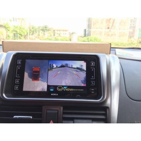Camera 360 độ ô tô cho xe Toyota Vios