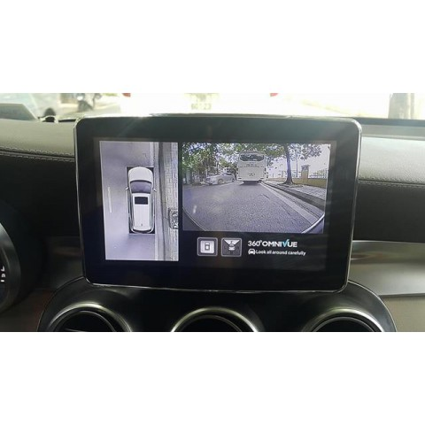 Camera 360 Độ Omnivue Cho Mercedes Benz GLC 250