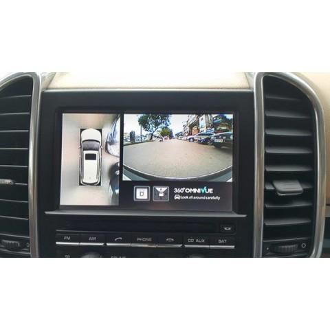 Camera 360 Độ Omnivue Cho Xe Porsche Cayenne