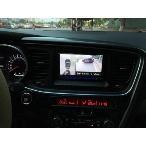 Camera 360 độ Oris cho xe kia Optima