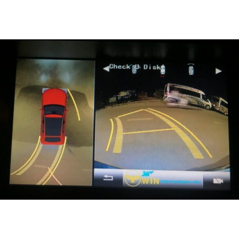 Camera 360 độ OWIN cho xe Lexus GX470
