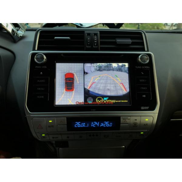 Camera 360 ô tô cho xe Land Cruiser Prado
