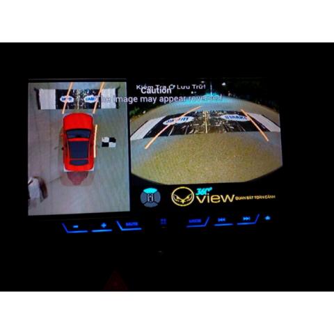 Camera 360 độ ô tô cho xe Mitsubishi Outlander