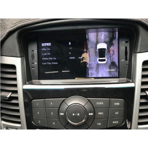 Camera 360 Oris cho xe Lacetti CDX