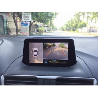 Camera 360 Oview cho xe Mazda 3 bản sedan