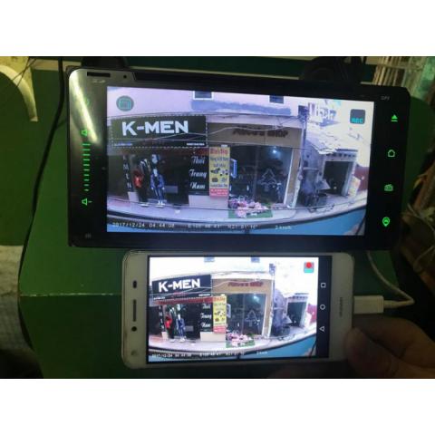 Camera hành trình ô tô tích hợp màn hình DVD