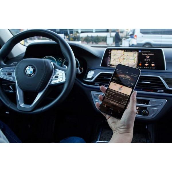 Carplay không dây cho xe BMW 750