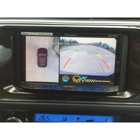 Camera 360 ô tô Oview cho xe toyota corolla altis