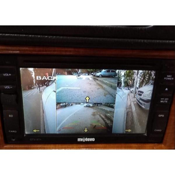 Bộ chia camera 360 độ – Bộ chia camera 4 hướng cho ô tô