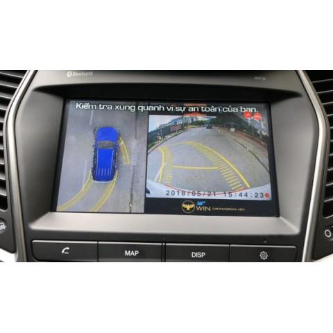 Camera 360 độ ô tô OWIN cho xe Hyundai Santafe