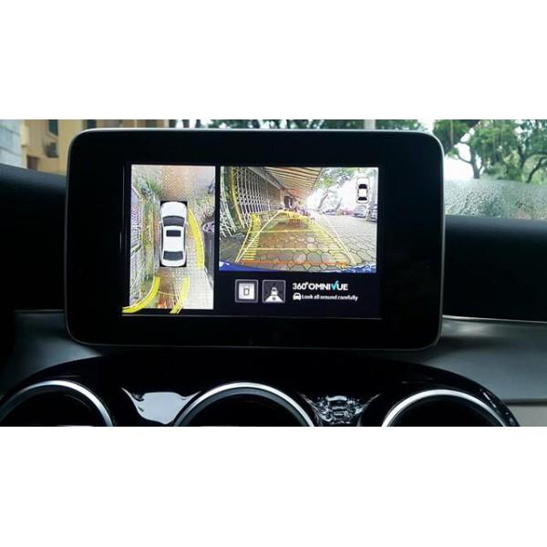 Camera 360 độ Omnivue Mercedes Benz C200