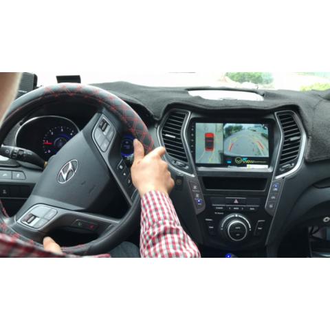 Camera 360 độ Oview cho xe Hyundai Santafe
