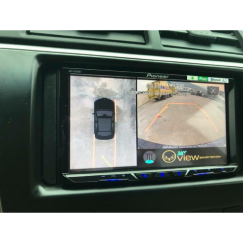 Camera 360 độ Oview cho xe Toyota Camry