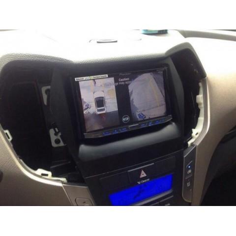 Camera 360 Oview cho xe Hyundai Santafe